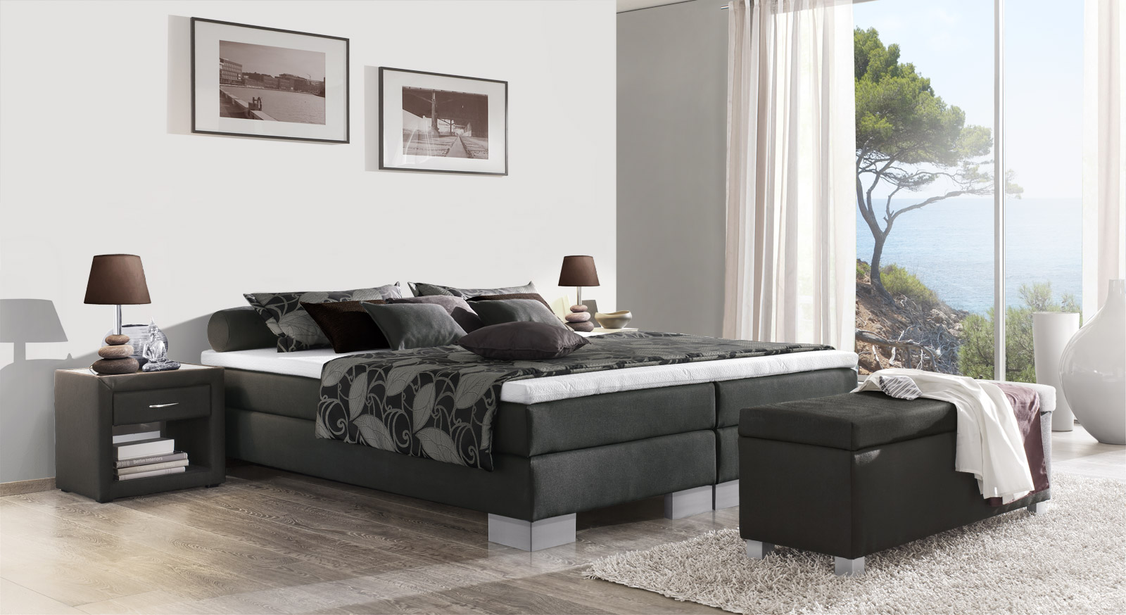 die partnerhotels probeschlafen. Black Bedroom Furniture Sets. Home Design Ideas